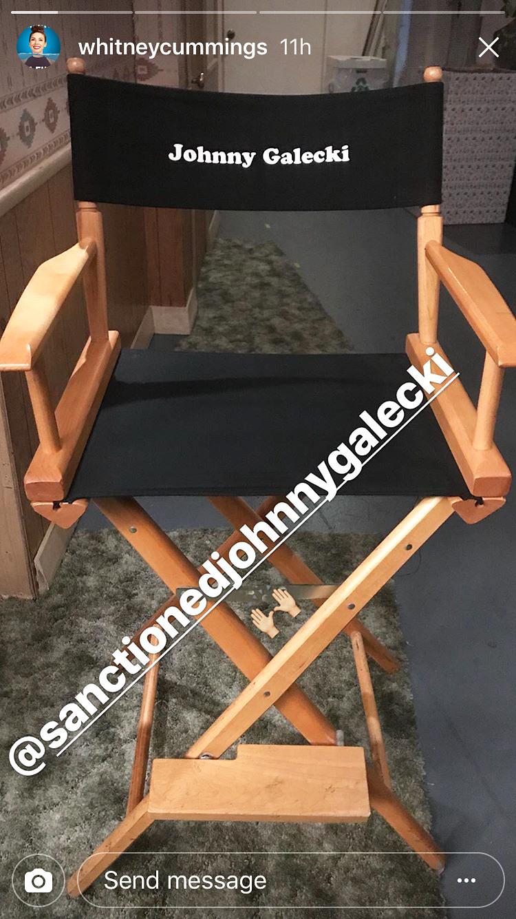 Johnny Galecki chair