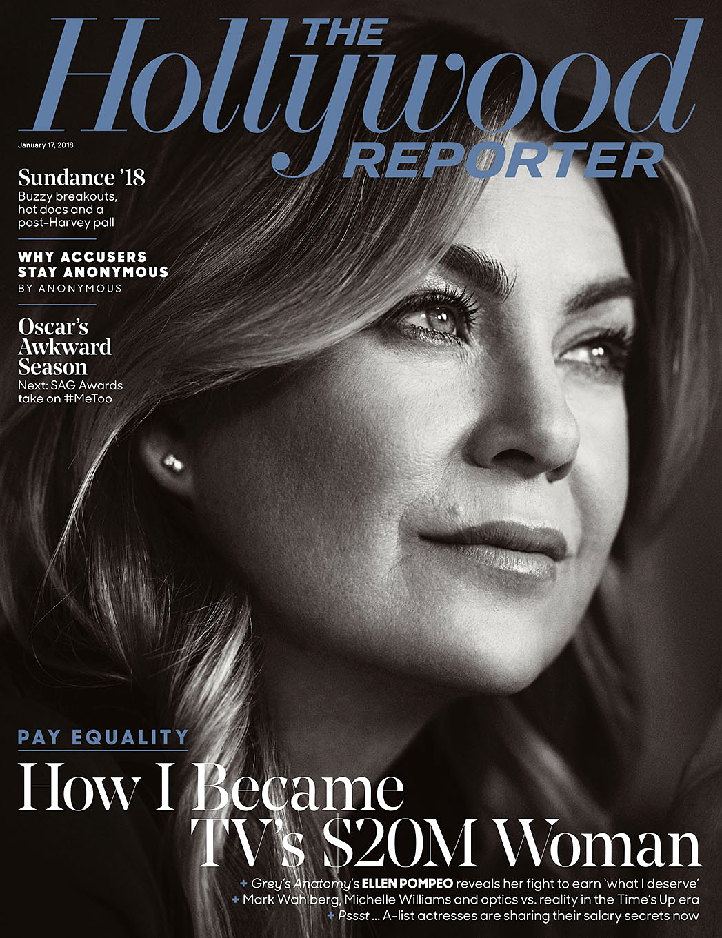 Ellen Pompeo The Hollywood Reporter cover