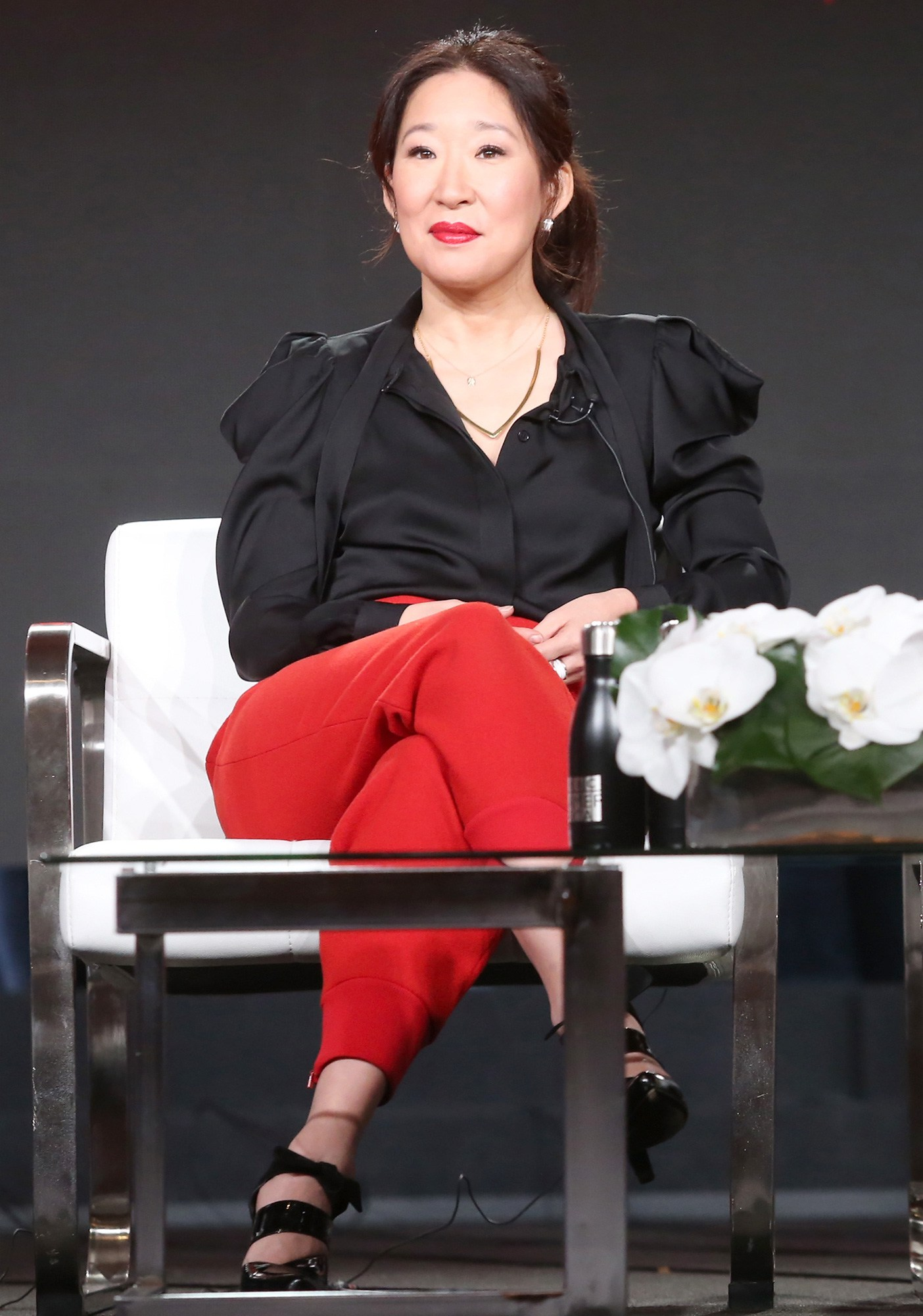 Sandra Oh, Killing Eve, 2018 Winter Television Critics Association Press Tour