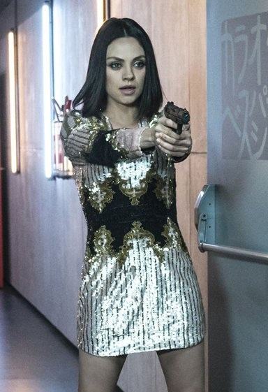 """Get Mila Kunis' Sexy Sparkly Dress From """"The Spy Who Dumped Me"""""""