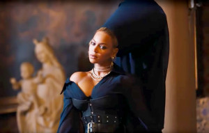 Beyonce in 'Family Feud' video