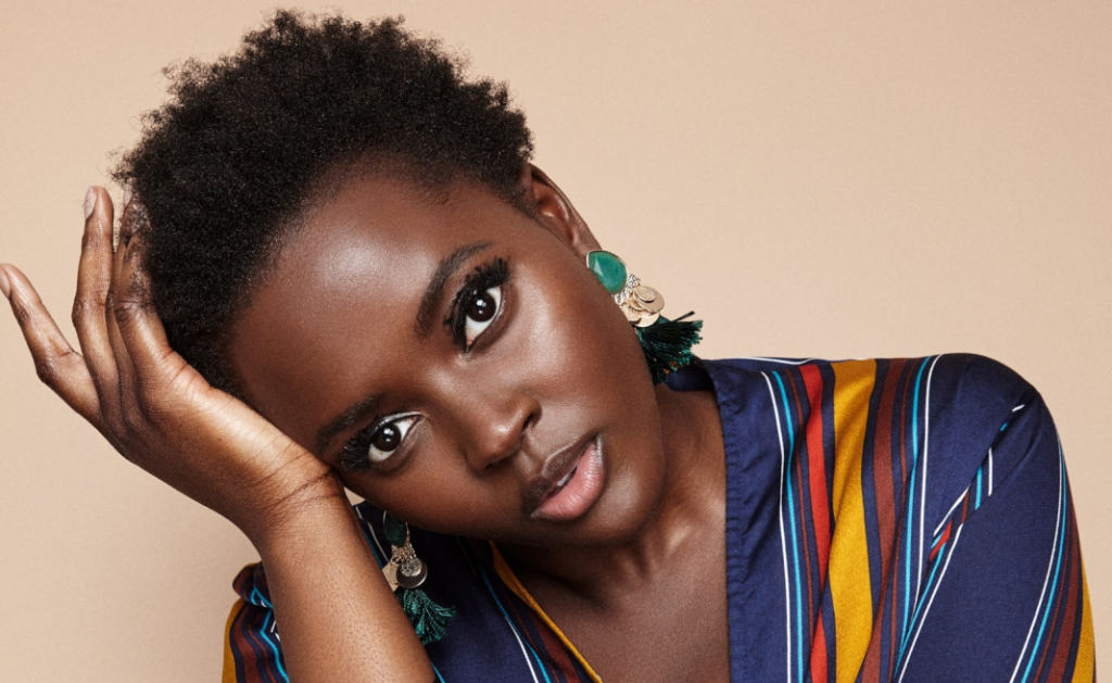 """Why Model Philomena Kwao Has A Clause That Keeps Hairstylists From Altering Her 4C """"African Curl"""""""