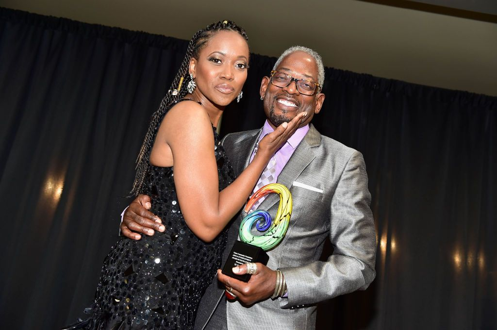 Erika Alexander And T.C. Carson Reunite To Celebrate 25 Years Of Living Single