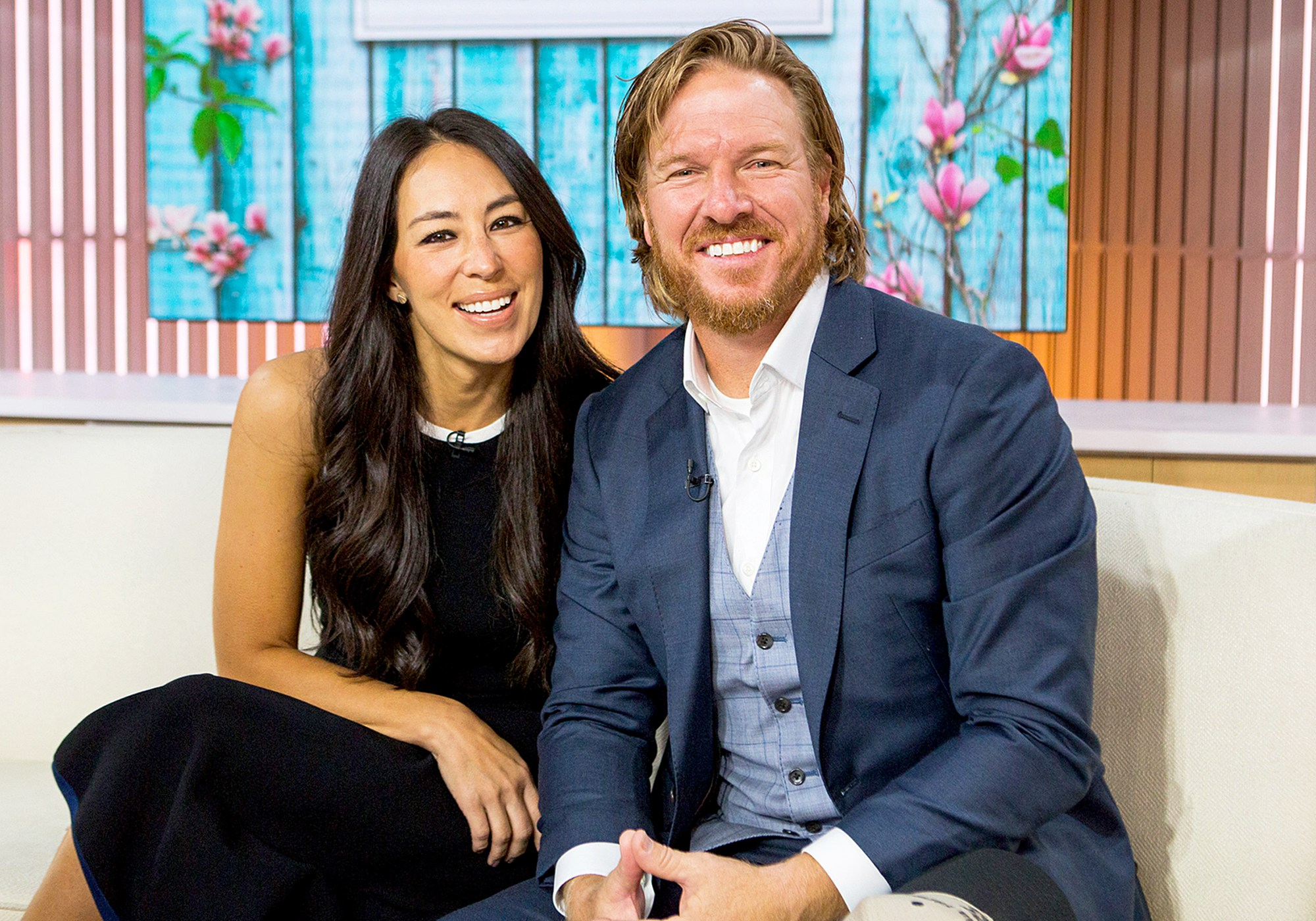 Chip and Joanna Gaines during Today show on October 17, 2017.