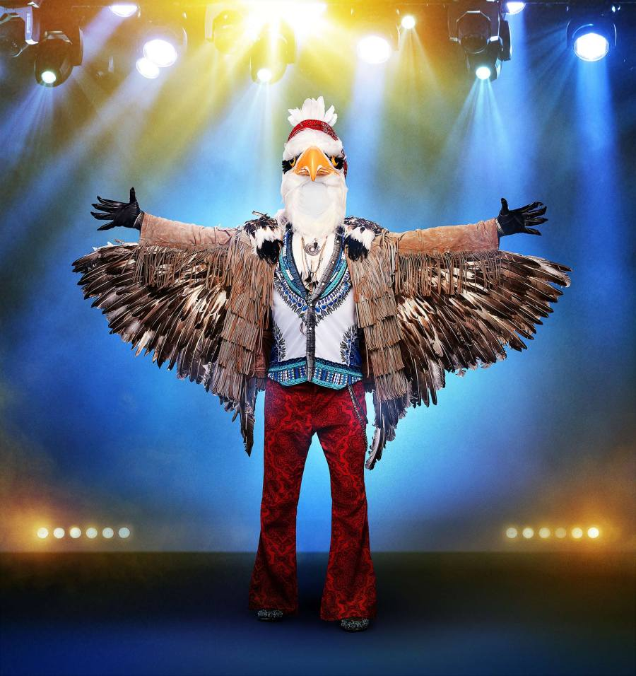 The Eagle on The Masked Singer
