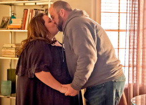 Chrissy Metz and Chris Sullivan as Kate and Toby on 'This Is Us'