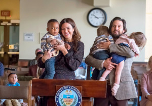 Mandy Moore and Milo Ventimiglia as Rebecca and Jack on 'This Is Us'