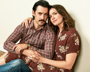 Milo Ventimiglia and Mandy Moore as Jack and Rebecca on 'This Is Us'