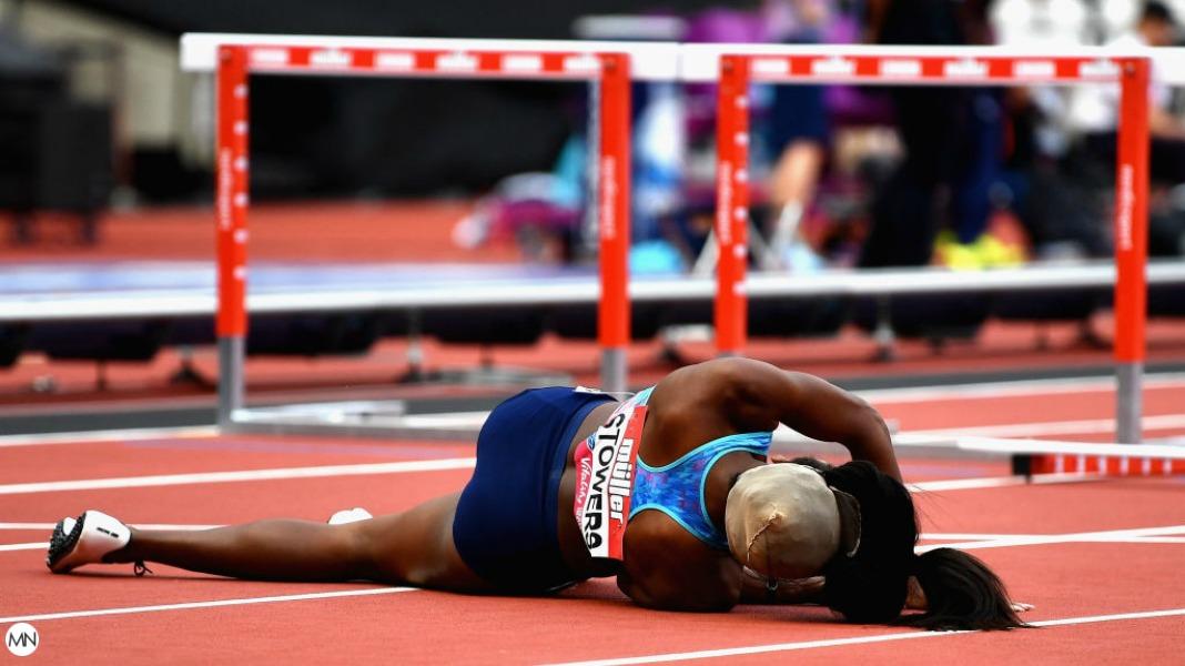 Jasmine Stowers, female athlete wig