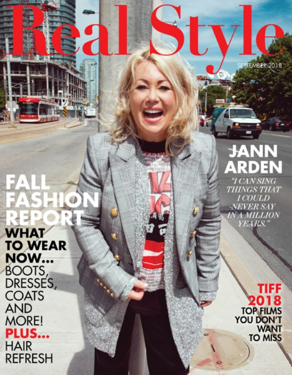 Jann Arden Covers Real Style's Hot New September 2018 Issue