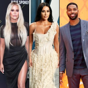 See Khloe Kardashian Reaction to Kim Inviting Tristan to Dinner