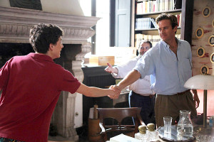 Timothee Chalamet and Armie Hammer in 'Call Me by Your Name'