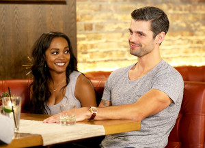 Rachel Lindsay and Peter Kraus