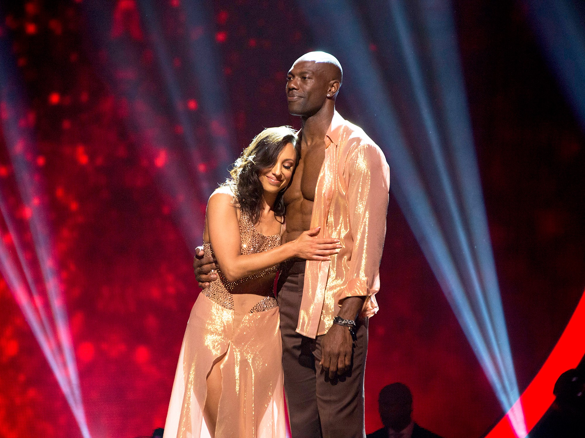 'Dancing With The Stars' partners Cheryl Burke and Terrell Owens