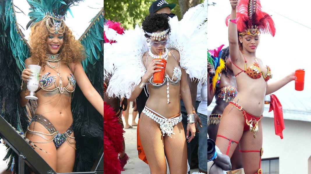 Rihanna cropover