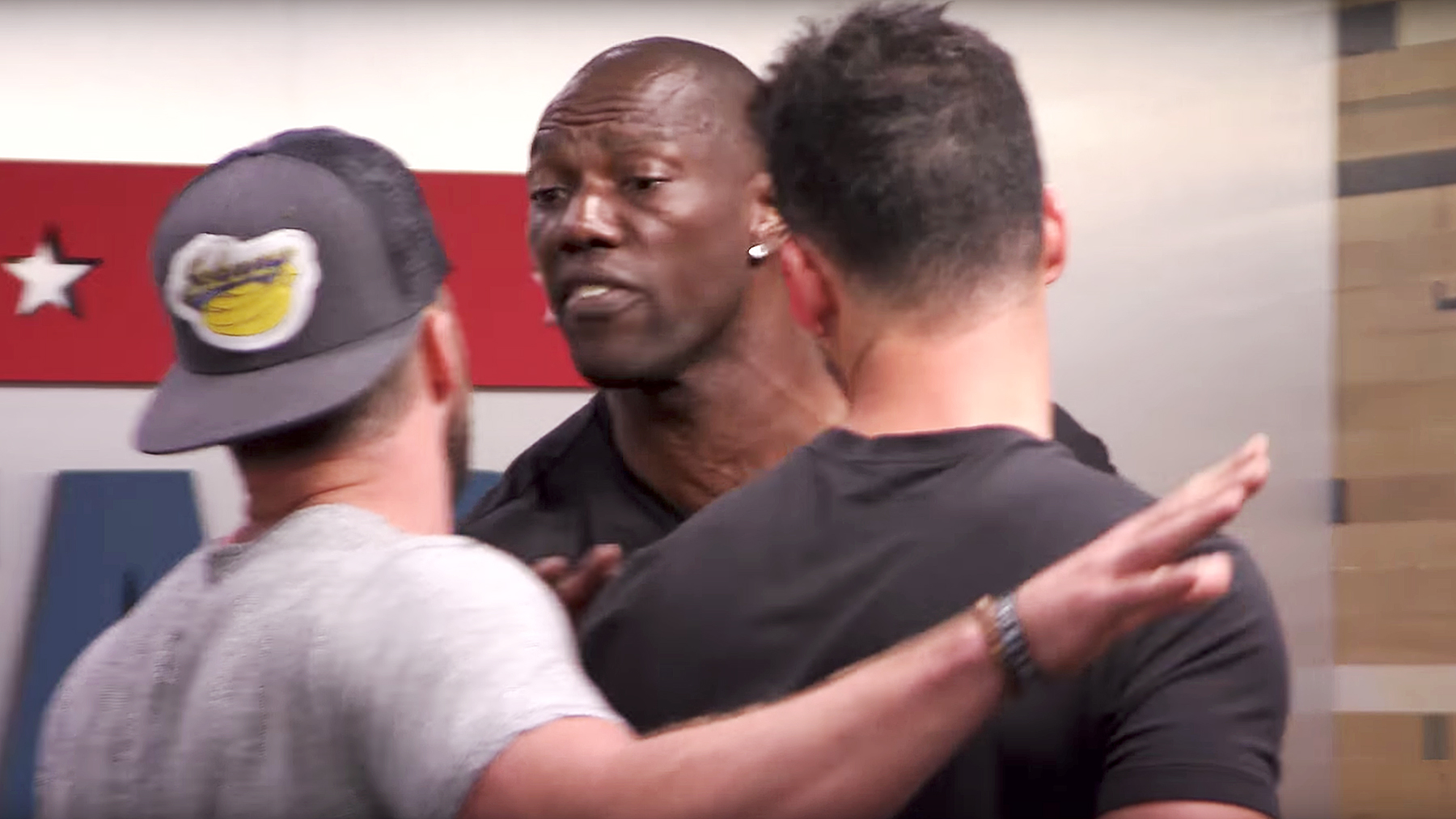 Terrell Owens The Challenge: Champs vs. Stars