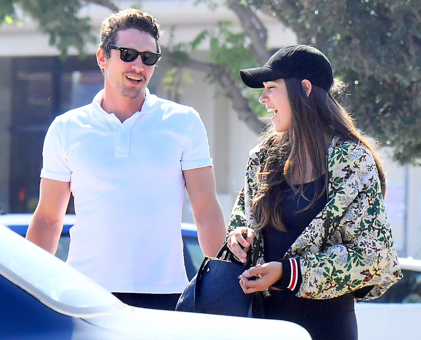 James Franco and Isabel Pakzad seen out on a lunch date in Studio City on July 11, 2017.
