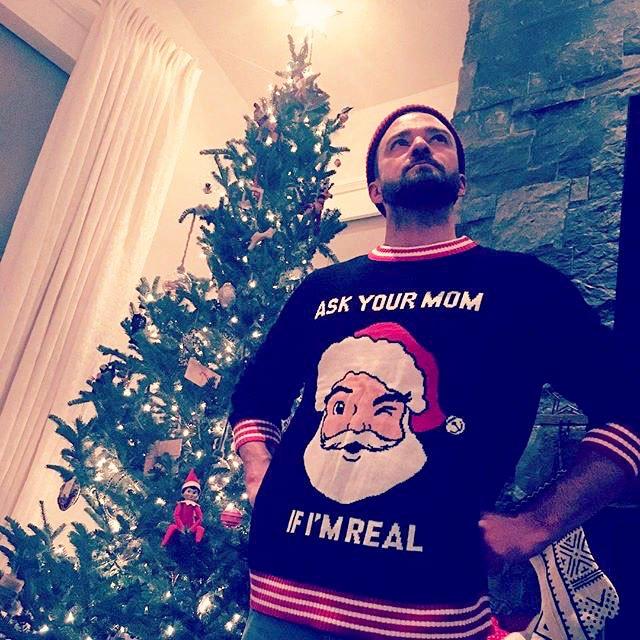 Justin-Timberlake-Instagram-Christmas