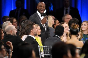 Taye Diggs and Kristen Bell Critic's Choice Awards 2020