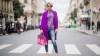Street Style : Paris Fashion Week Womenswear Spring/Summer 2018 : Day Seven