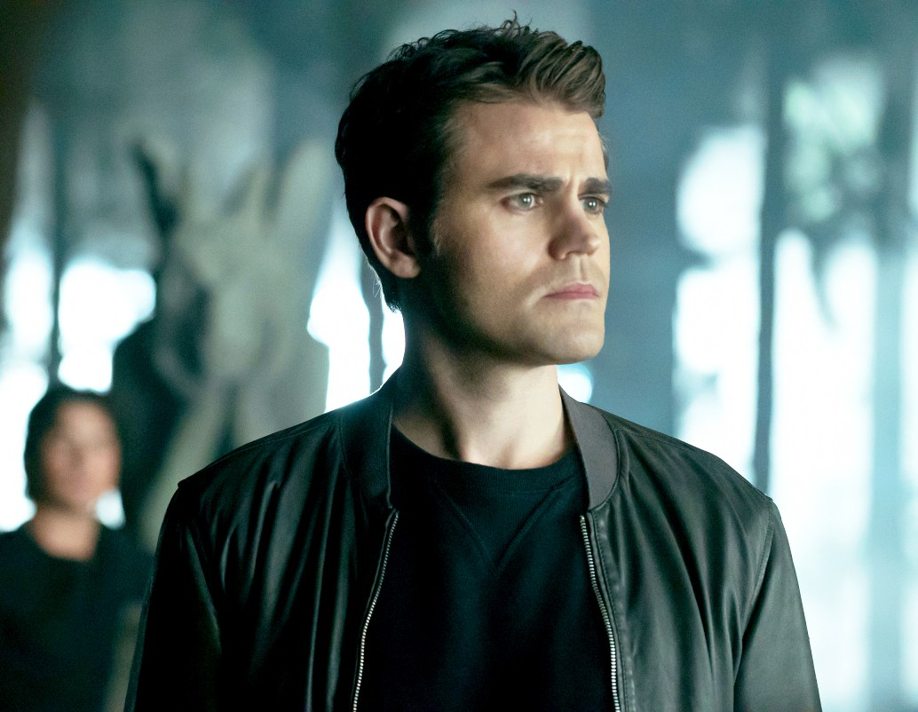 Paul Wesley as Stefan on 'The Vampire Diaries'