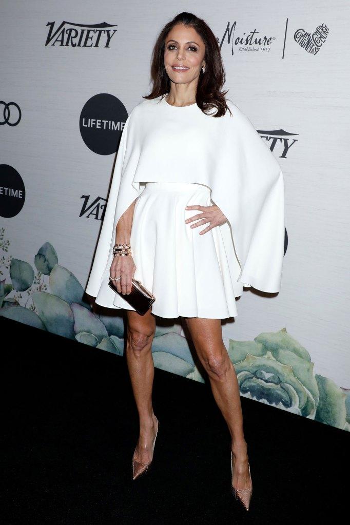 Bethenny Frankel Wearing Alexander McQueen Leaving-Real-Housewives-Of-New-York