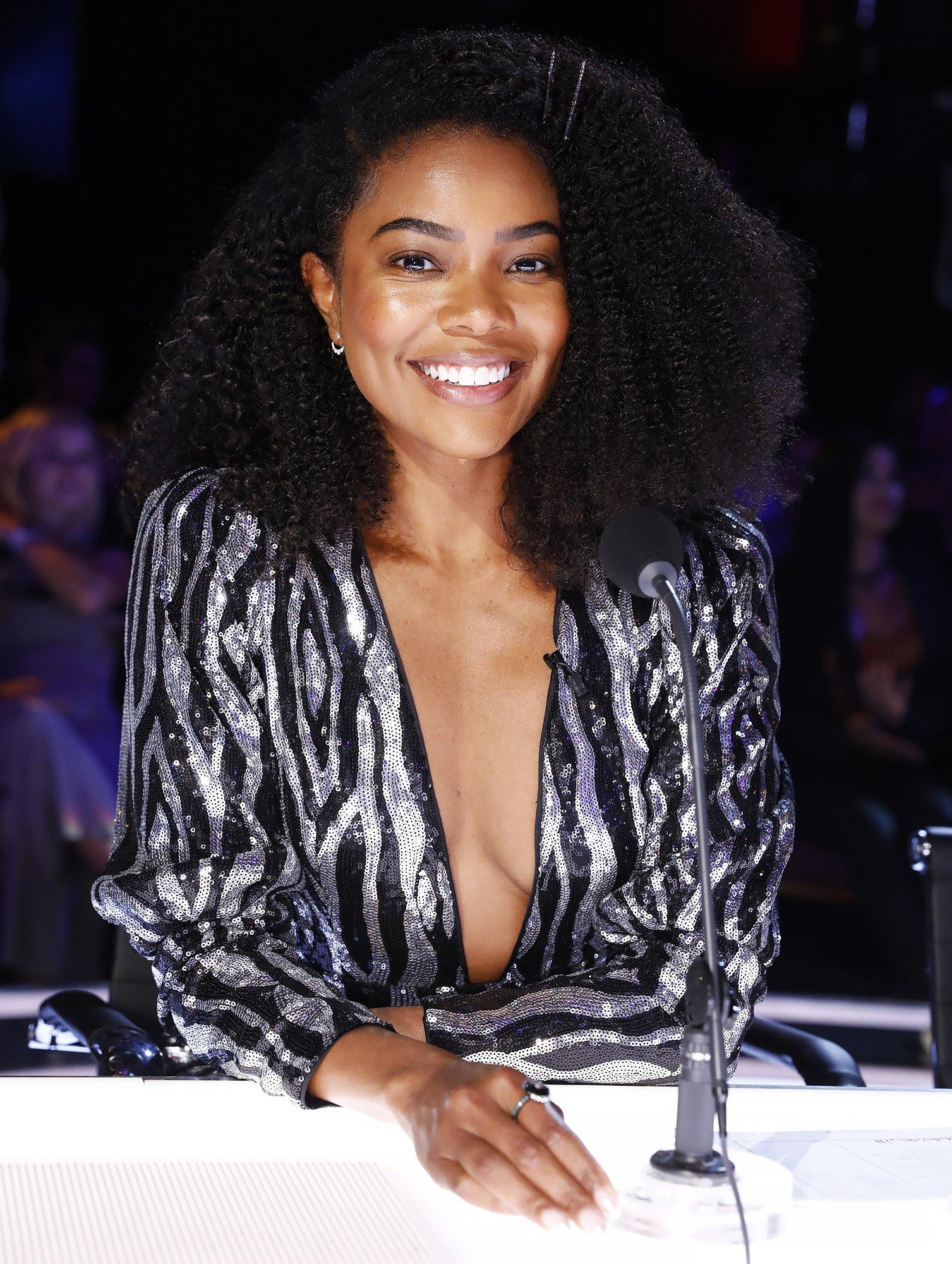 Gabrielle Union Americas Got Talent hairstyles too black