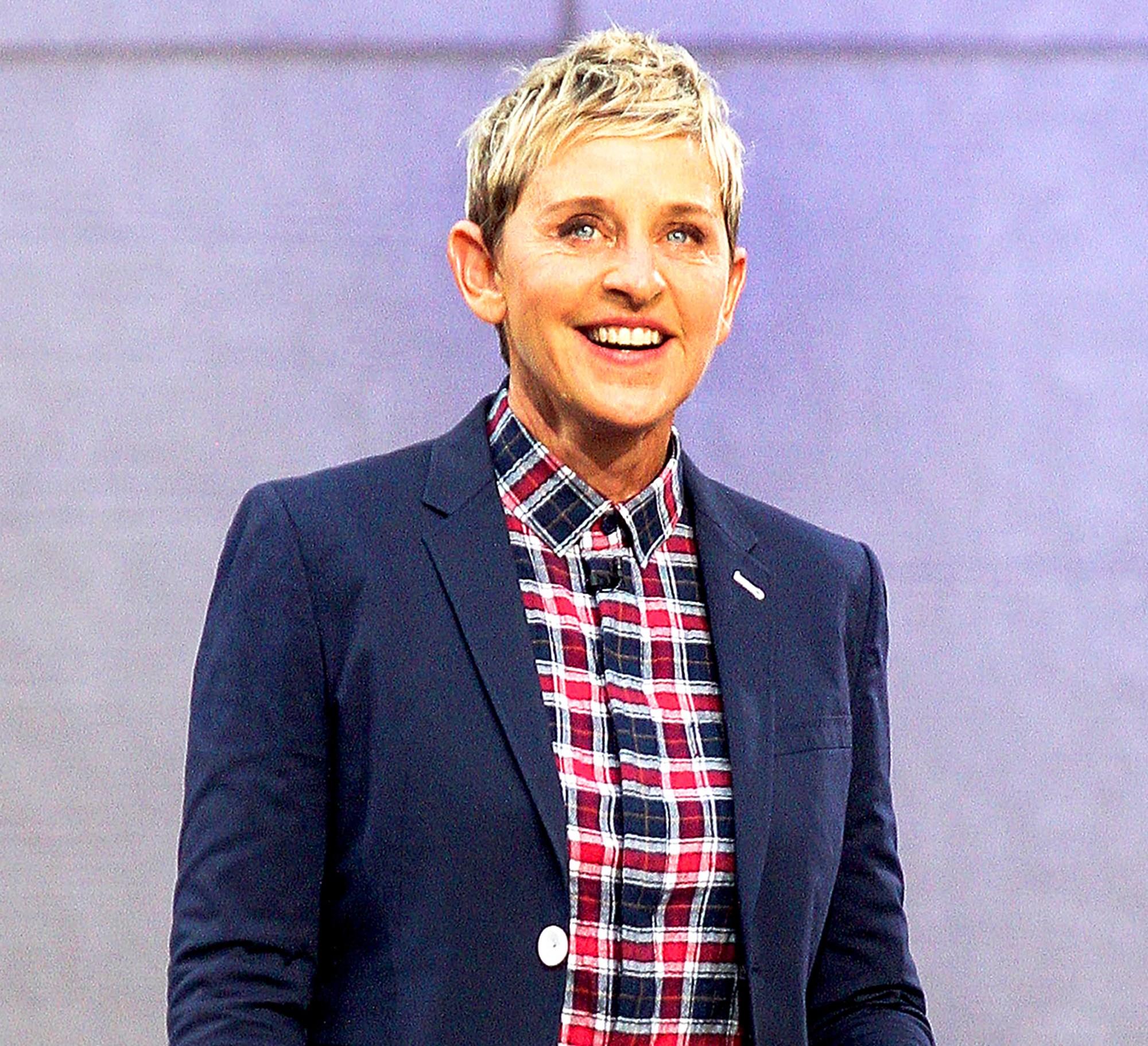 Ellen DeGeneres attends 'The Ellen DeGeneres Show' Bi-Coastal Premiere at Rockefeller Center in New York City.