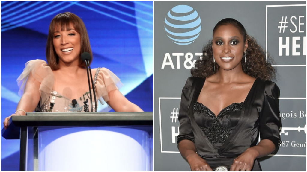 Robin Thede and Issa Rae
