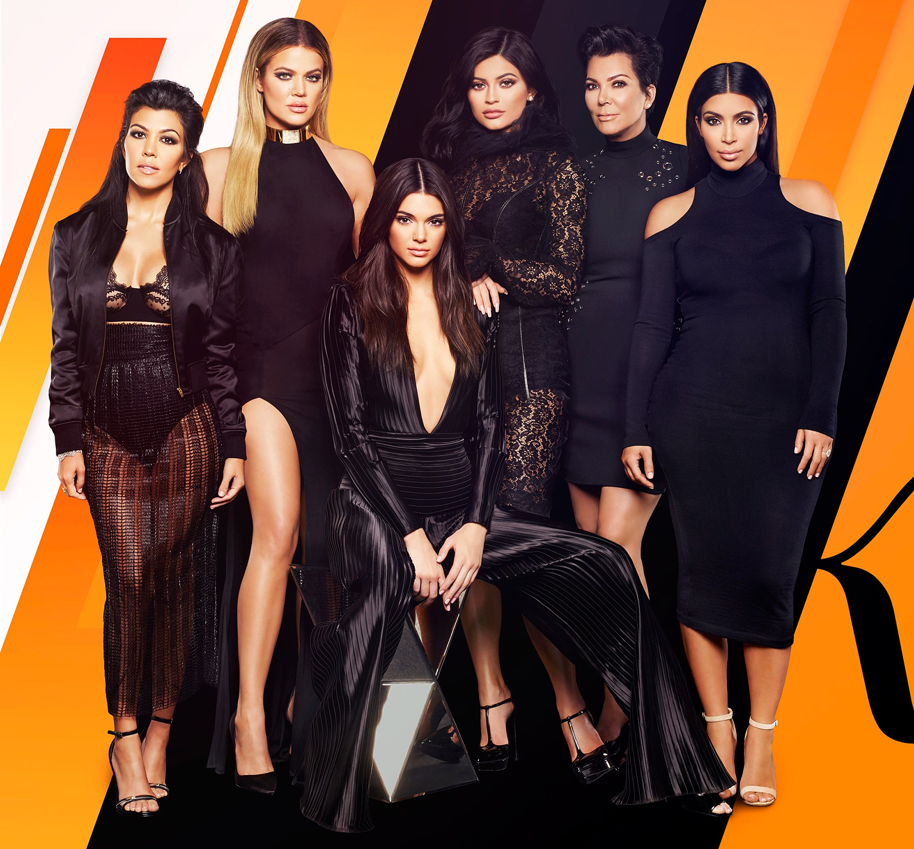 Kourtney Kardashian, Khloe Kardashian, Kendall Jenner, Kylie Jenner, Kris Jenner, Kim Kardashian West