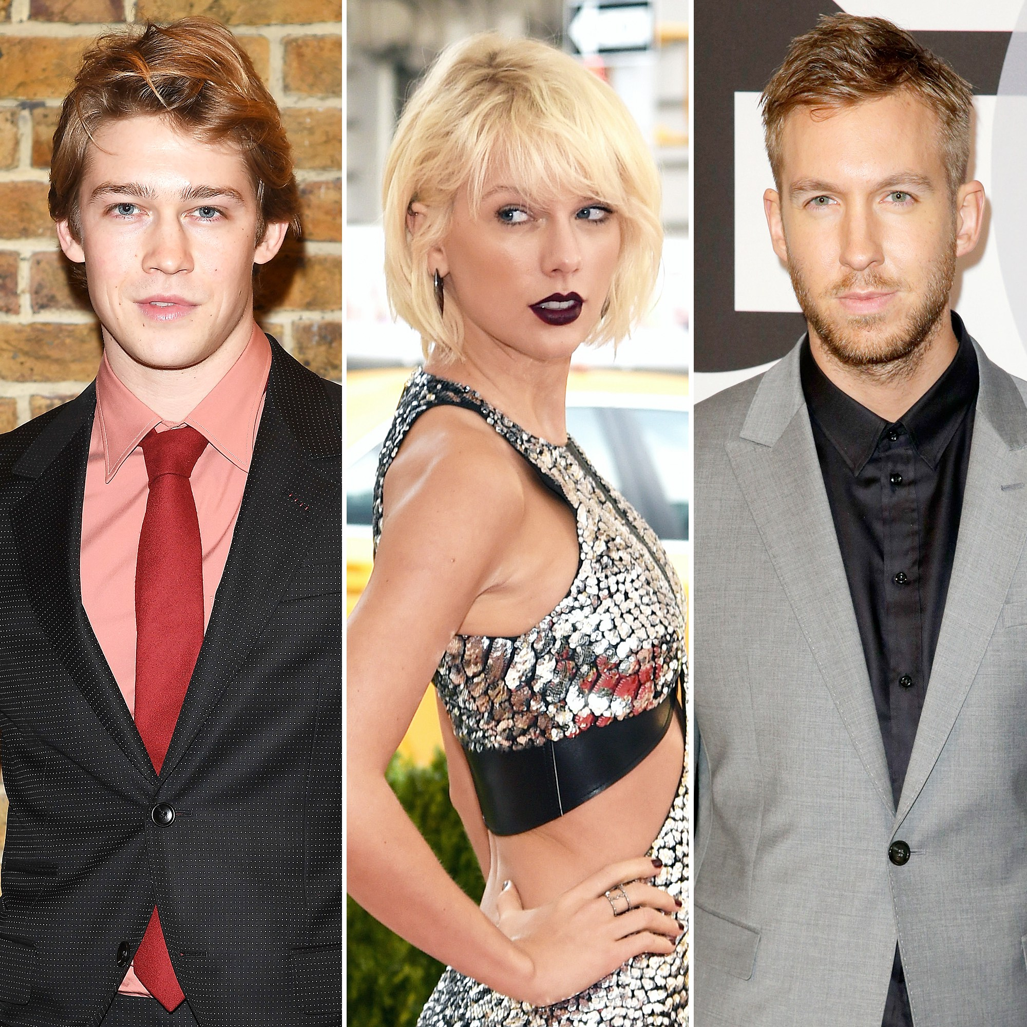 Joe Alwyn Taylor Swift Calvin Harris