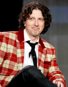 Mark Schwahn attends the NBCUniversal 2015 Press Tour.