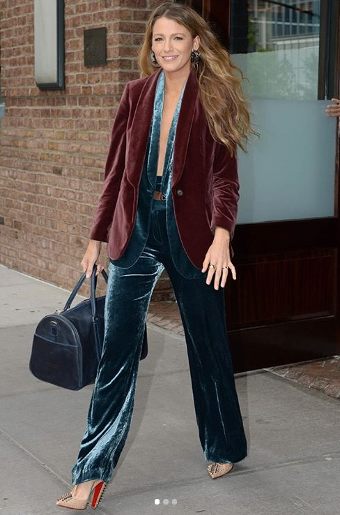 Blake Lively Is Our Celebrity Icon For Transitional September Style