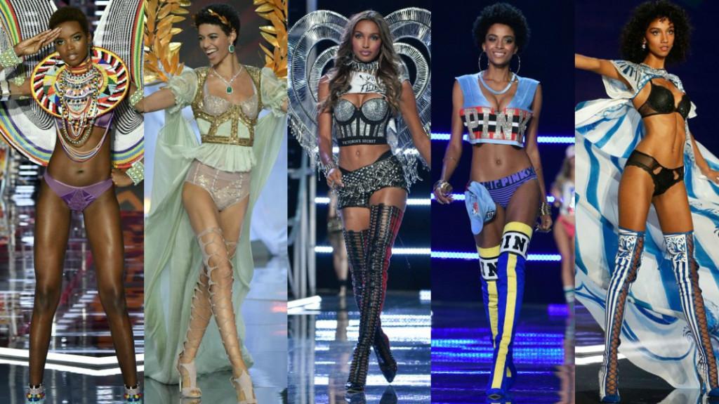 Black women Victoria Secret fashion show