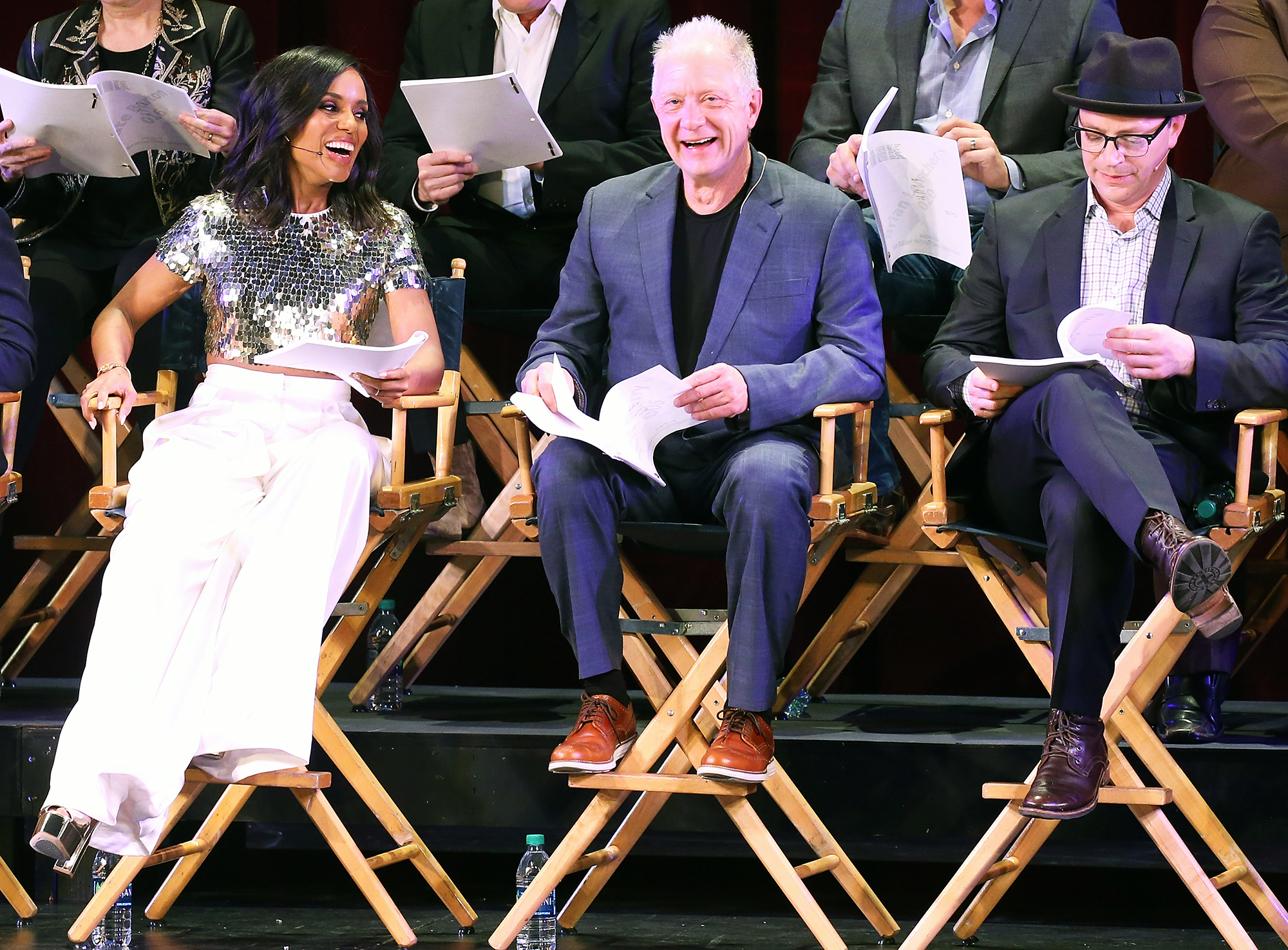 Kerry Washington Scandal live stage reading