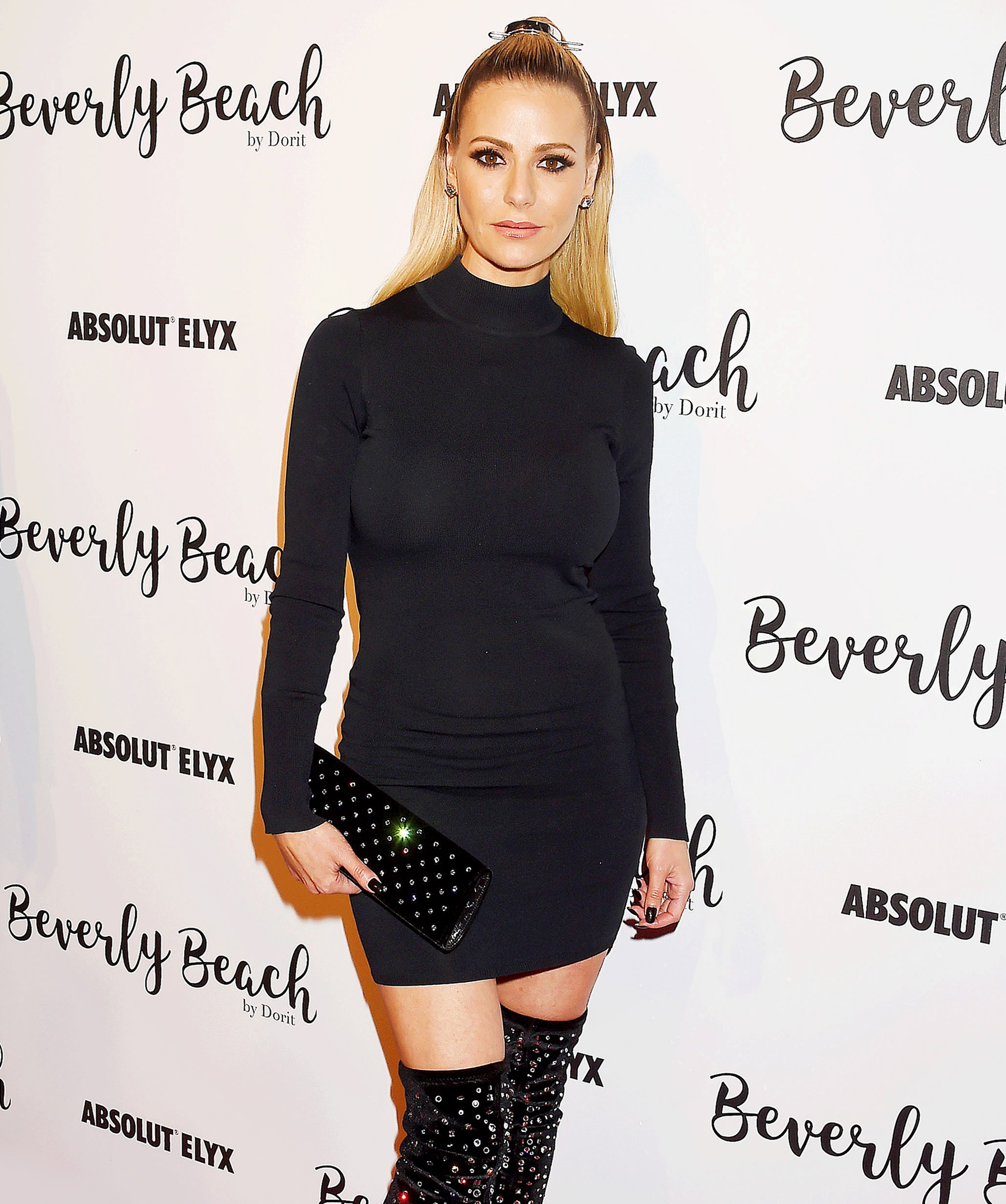 Dorit Kemsley attends the Dorit Kemsley Hosts Preview Event For Beverly Beach By Dorit at the Trunk Club on October 21, 2017 in Culver City, California.