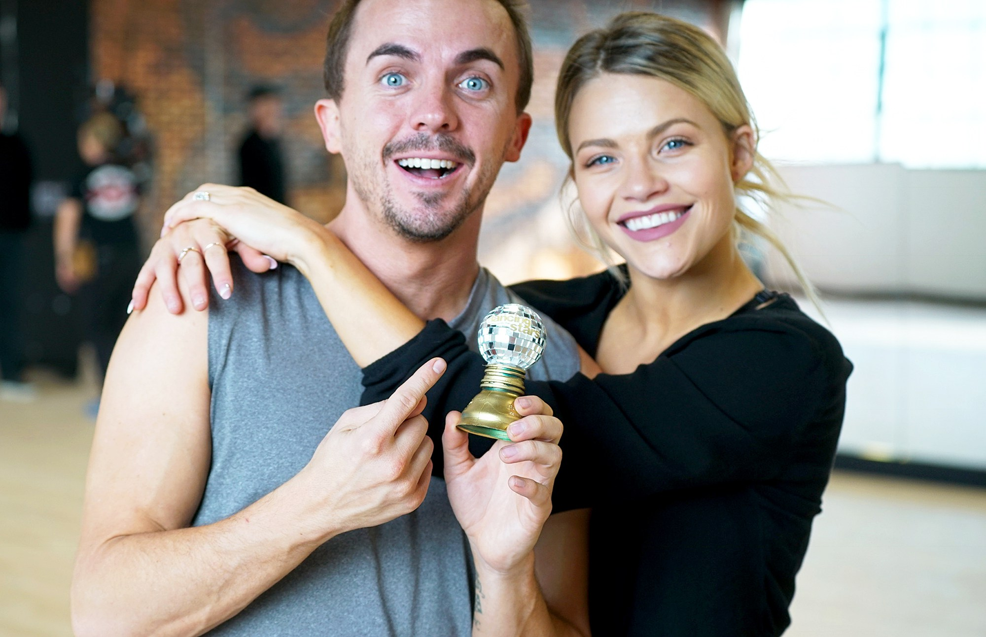Frankie Muniz and Witney Carson on 'Dancing With The Stars'