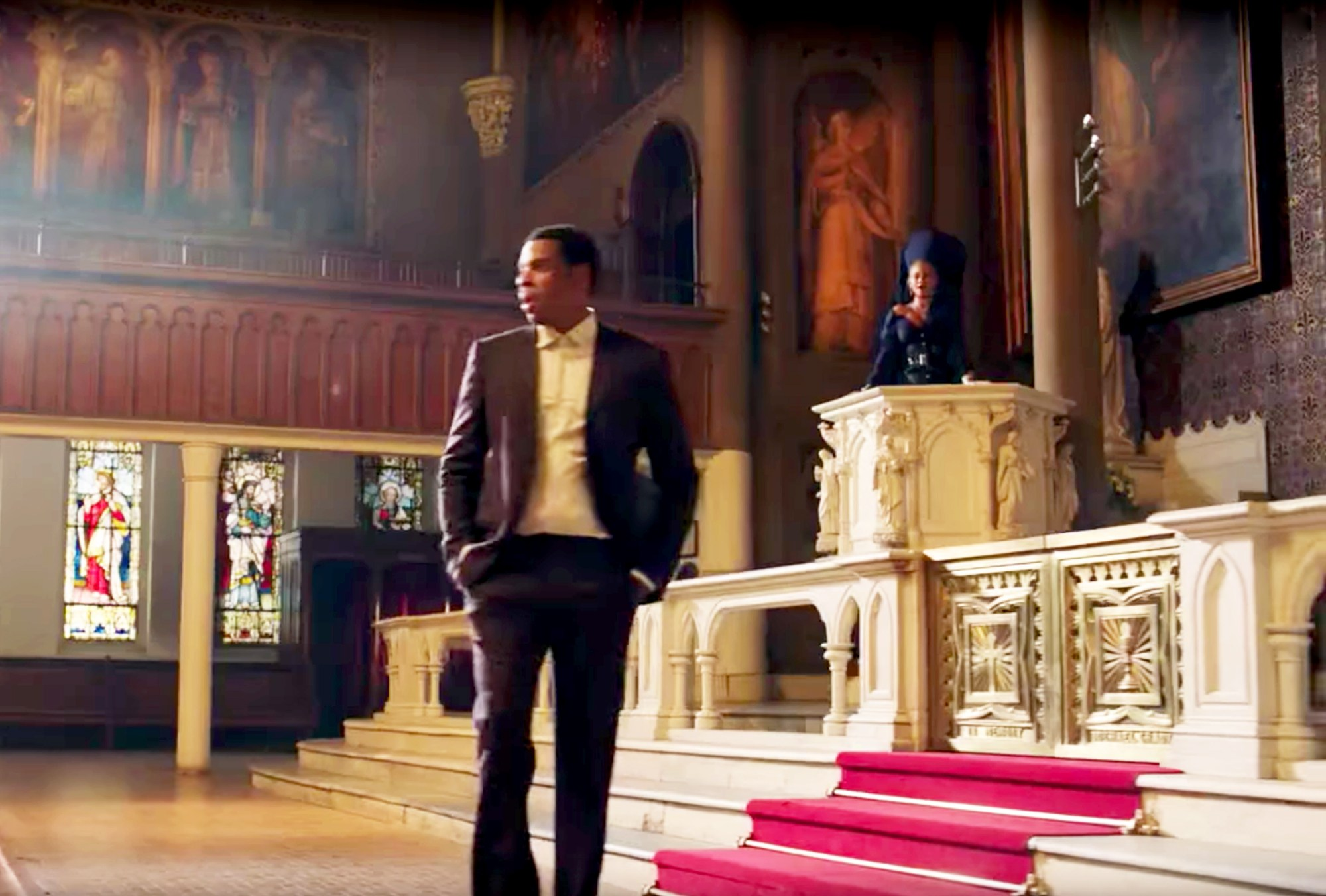 Jay Z and Beyonce in 'Family Feud' video