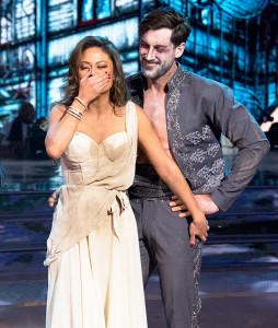 Vanessa Lachey and Maksim Chmerkovskiy on 'Dancing With The Stars'