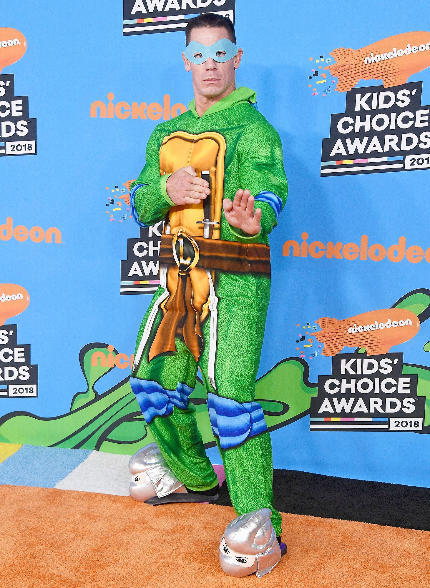 John Cena, Teenage Mutant Ninja Turtles, Nickelodeon's 2018 Kids' Choice Awards