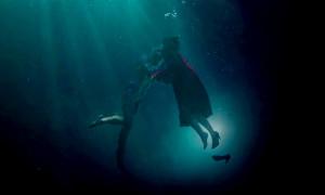 Doug Jones and Sally Hawkins in 'The Shape of Water'