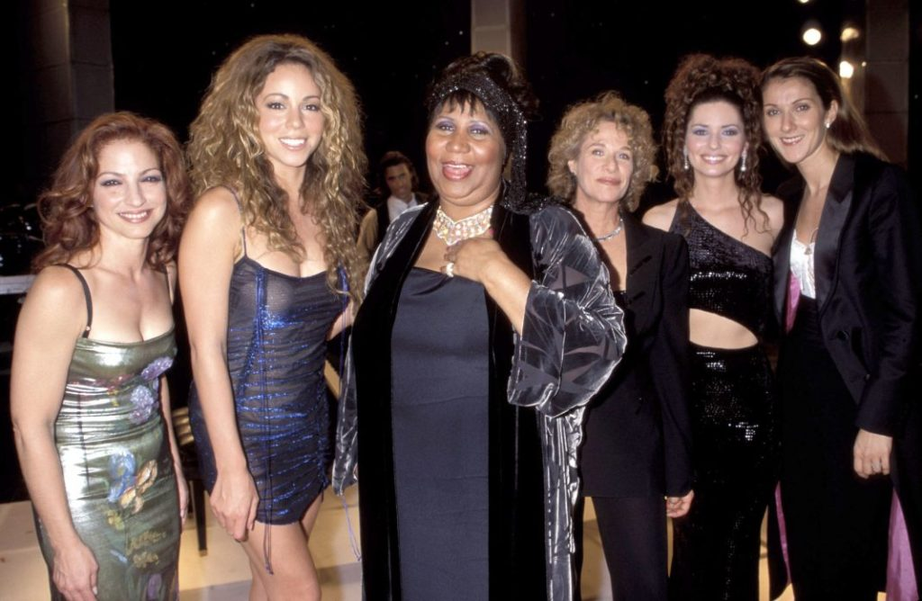 mariah carey was intimidated to perform with aretha franklin
