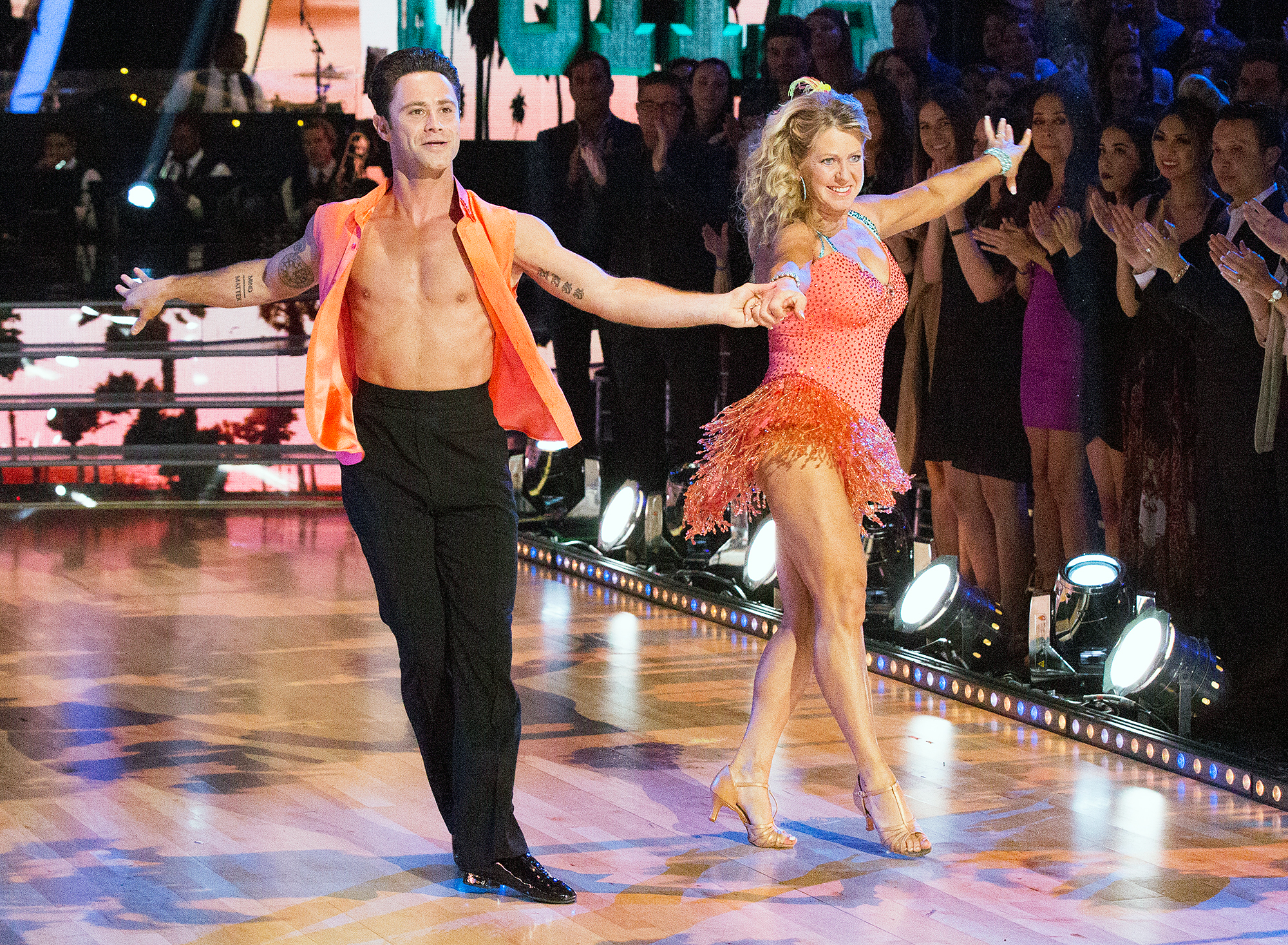 Sasha Farber Tonya Harding Dancing With the Stars Athletes