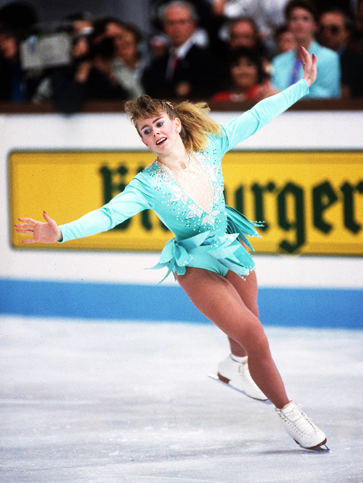Tonya Harding World Figure Skating Championships 1991 Munich