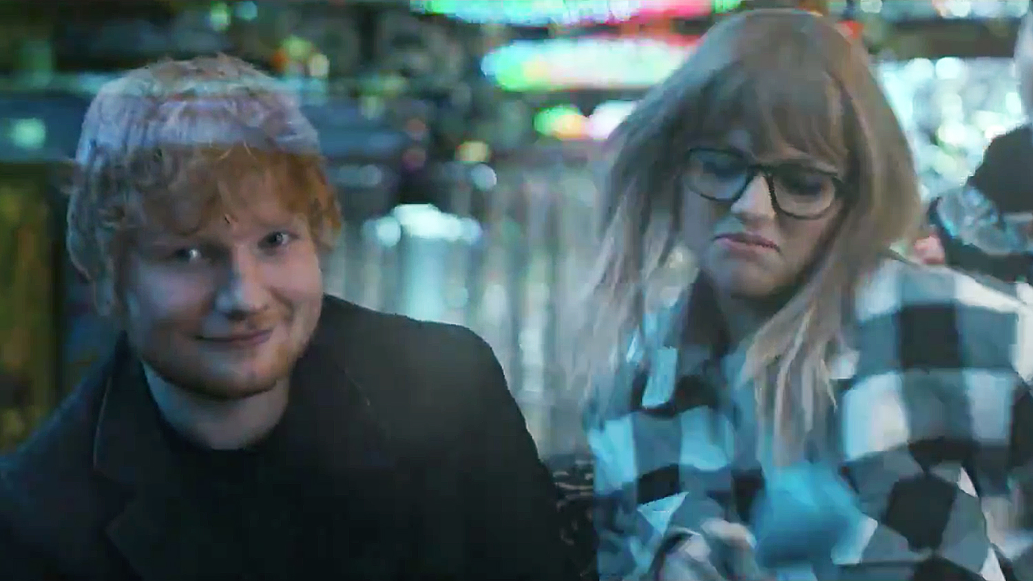 Ed Sheeran Taylor Swift End Game video