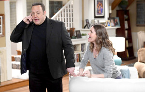 Kevin James and Erinn Hayes on Kevin Can Wait