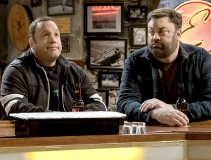 Kevin James and Chris Roach on Kevin Can Wait