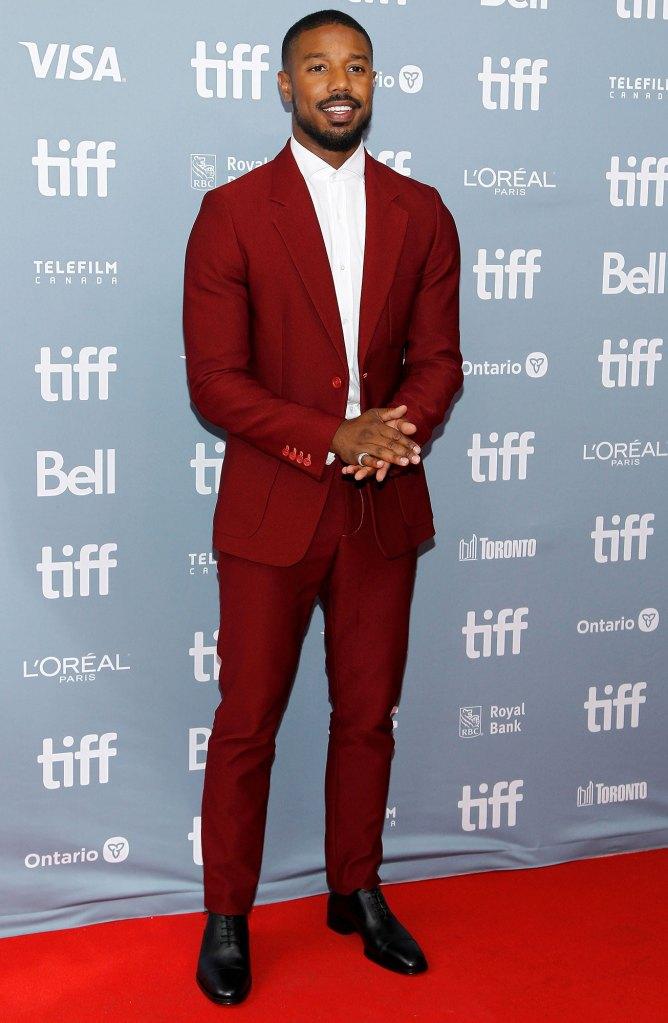 Michael B. Jordan Just Mercy Press Conference TIFF