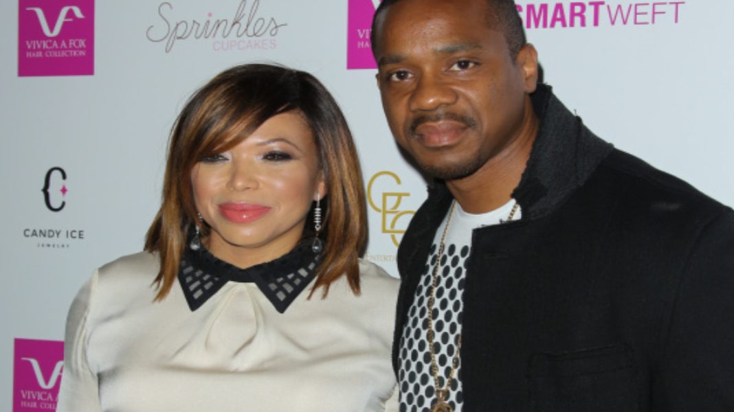 Tisha Campbell-Martin Claims Duane Doesn't Need Spousal Support Considering His $750K Shirt Habit