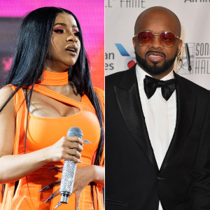 Cardi B Reacts to Jermaine Dupri